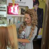 Клиенти с удължени коси през 2013 руси екстеншъни