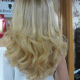 Клиенти с удължени коси през 2013 | Златисто-русо с кичури