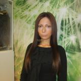 Изсветляване с удължена коса - след