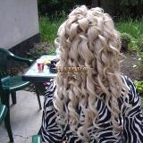 Официални прически с удължена коса